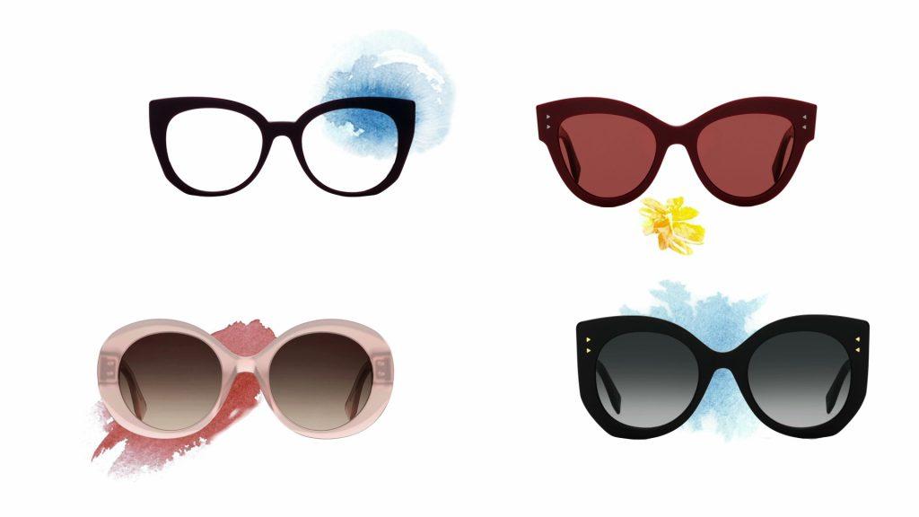 eeb21a06424aa Fendi apresenta  Um dia com Peekaboo, novo vídeo animado com os novos óculos  de sol Peekaboo reinterpretados como aquarelas leves e elegantes em uma ...