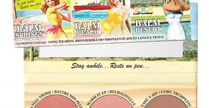 The Balm lança paleta de blush